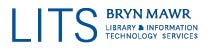 Bryn Mawr College Library & Information Technology Services Logo